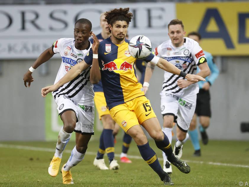 Andre Ramalho und Co. rutschten in Klagenfurt aus