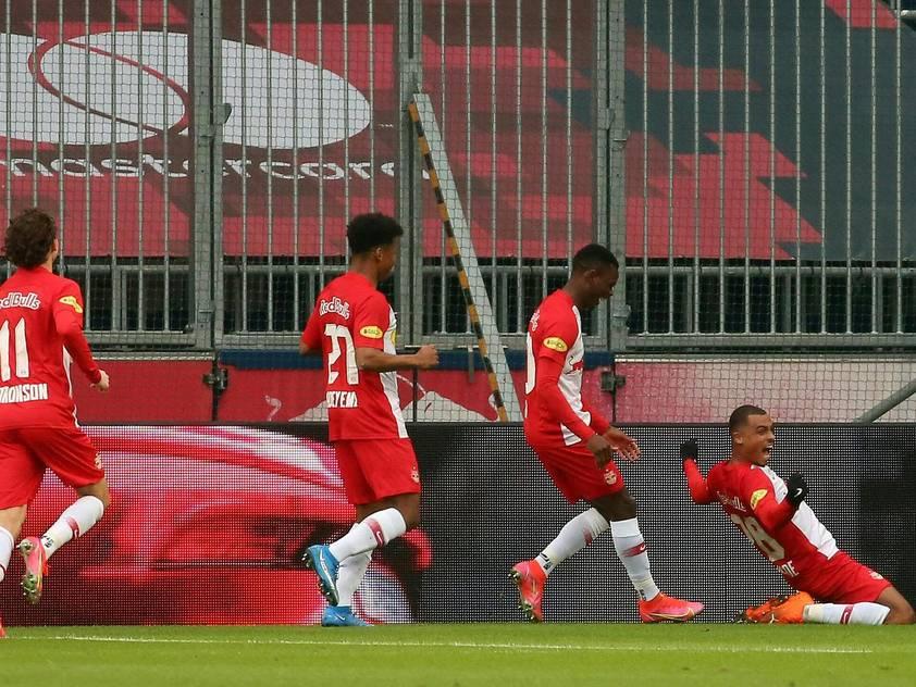 Salzburg bejubelt den achten Sieg in den vergangenen neun Pflichtspielen