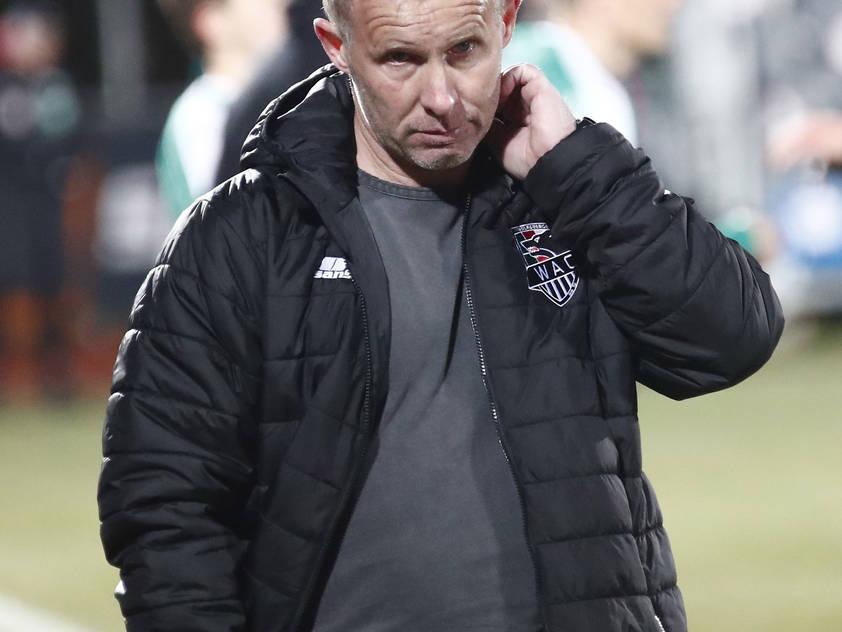 WAC-Coach Roman Stary fordert drei Punkte gegen die WSG Tirol