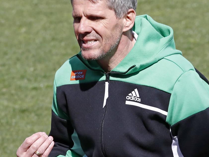 Dietmar Kühbauer möchte die passende Antwort auf die Niederlage gegen Salzburg geben