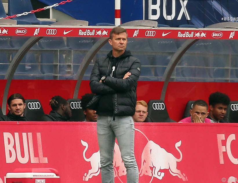 Blickt seinem zweiten Meistertitel mit Salzburg entgegen: Jesse Marsch