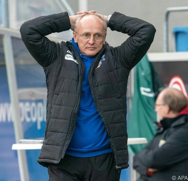 SKN-Coach Zellhofer hofft auf die Rückkehr des Spielglücks