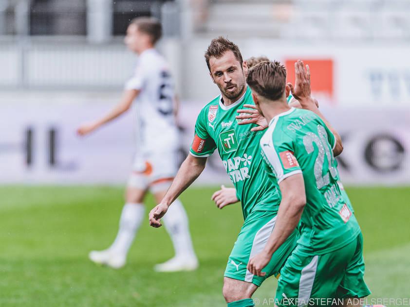 Benjamin Pranter verlässt nach dieser Saison WSG Tirol