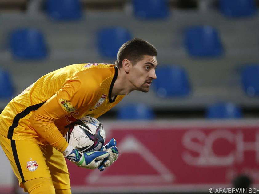 Salzburg-Goalie Cican Stanković plant offenbar den Abflug