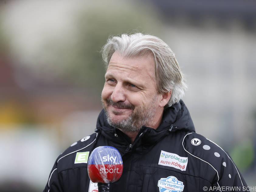 Markus Schopp will mit Hartberg in die Top sechs