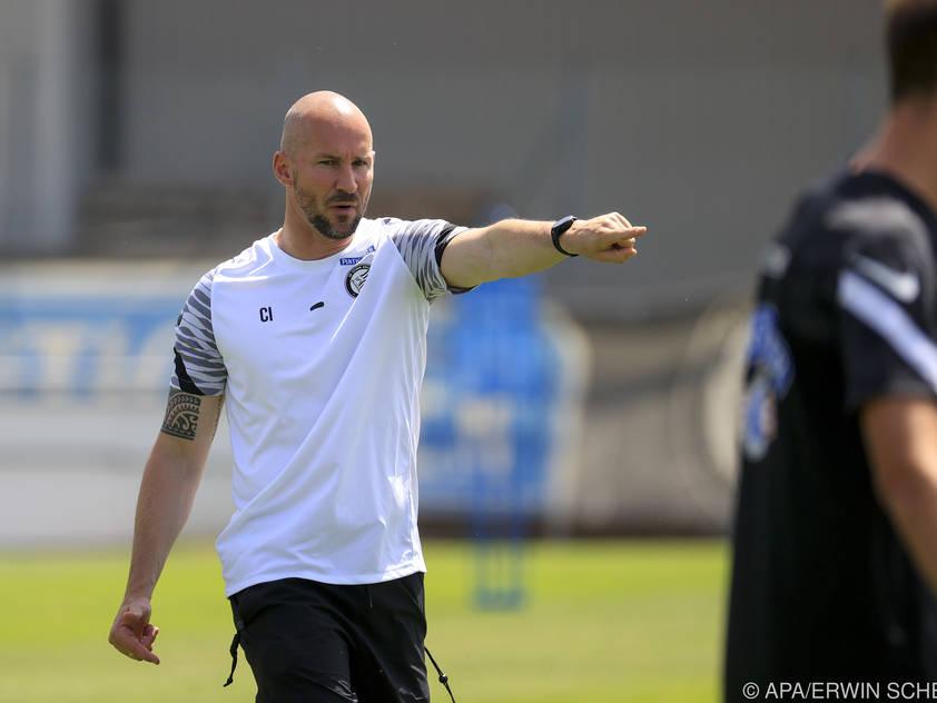 Sturm-Trainer Christian Ilzer gibt die Richtung vor