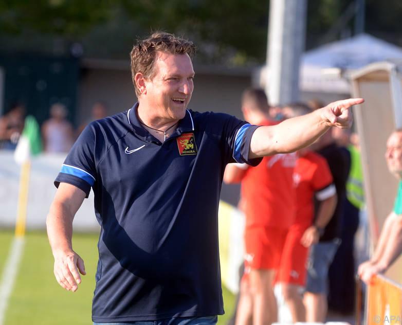 Admiras Neo-Coach Andreas Herzog peilt einen positiven Saisonstart an