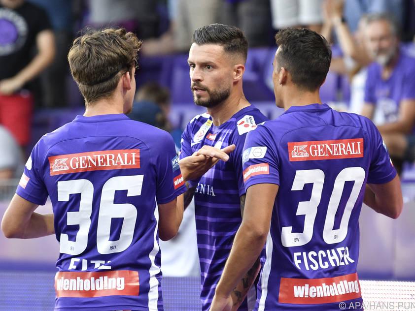 Die Austria will zum Start in die Meisterschaft jubeln