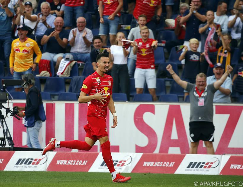 Berisha gab am 21. August sein Comeback nach Verletzungspause