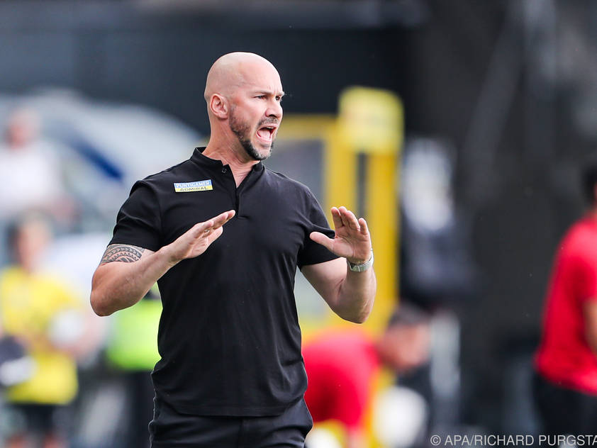 Erfolgserlebnis für Sturm-Coach Christian Ilzer
