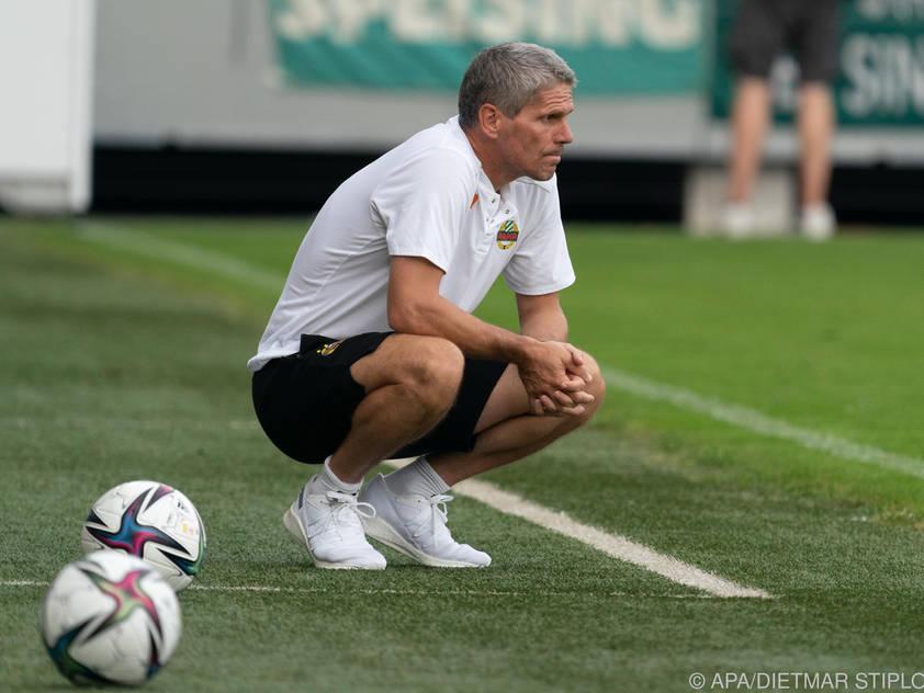 Didi Kühbauer hofft auch gegen Sturm Graz auf ein Erfolgserlebnis