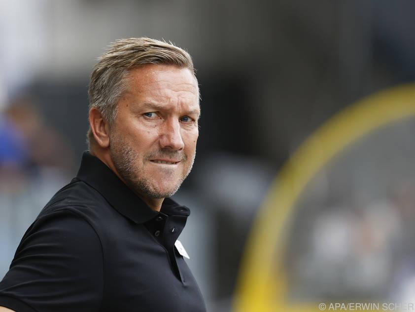 Tore und Punkte fehlen: Mühsame Zeiten für Austria-Coach Schmid