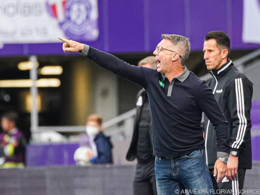 Damir Canadi will drei Punkte gegen Klagenfurt