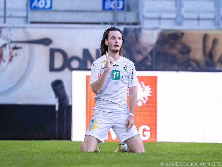Thomas Sabitzer avancierte mit drei Toren zum Matchwinner