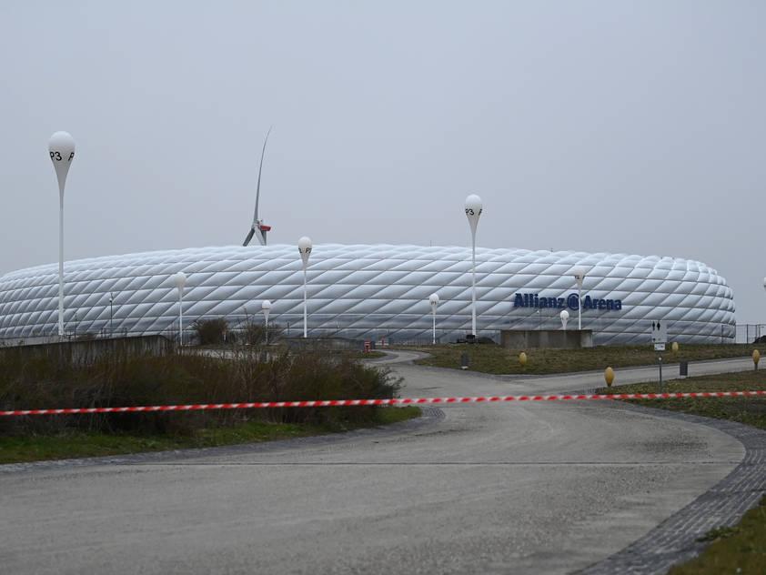 Die EM-Spiele in der Münchner Allianz-Arena wackeln