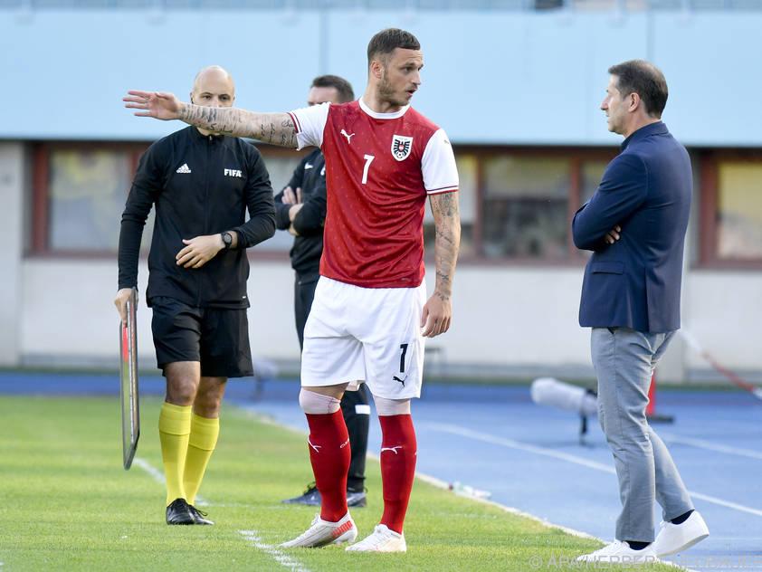 Arnautović will gegen Nordmazedonien in der Startelf stehen