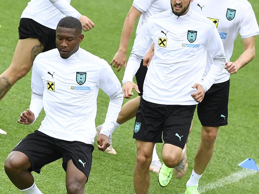 David Alaba hofft auf einen erfolgreichen EM-Start mit ÖFB-Team