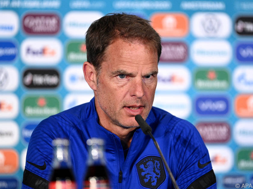 Frank de Boer weiß um die Stärken des ÖFB-Teams