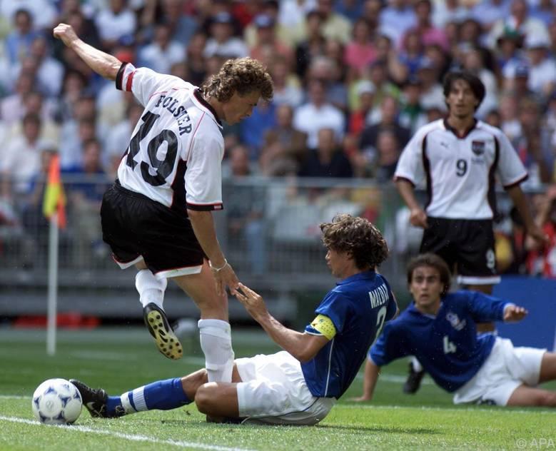 Das letzte Turnierduell gegen Italien verlor das ÖFB-Team bei der WM 98