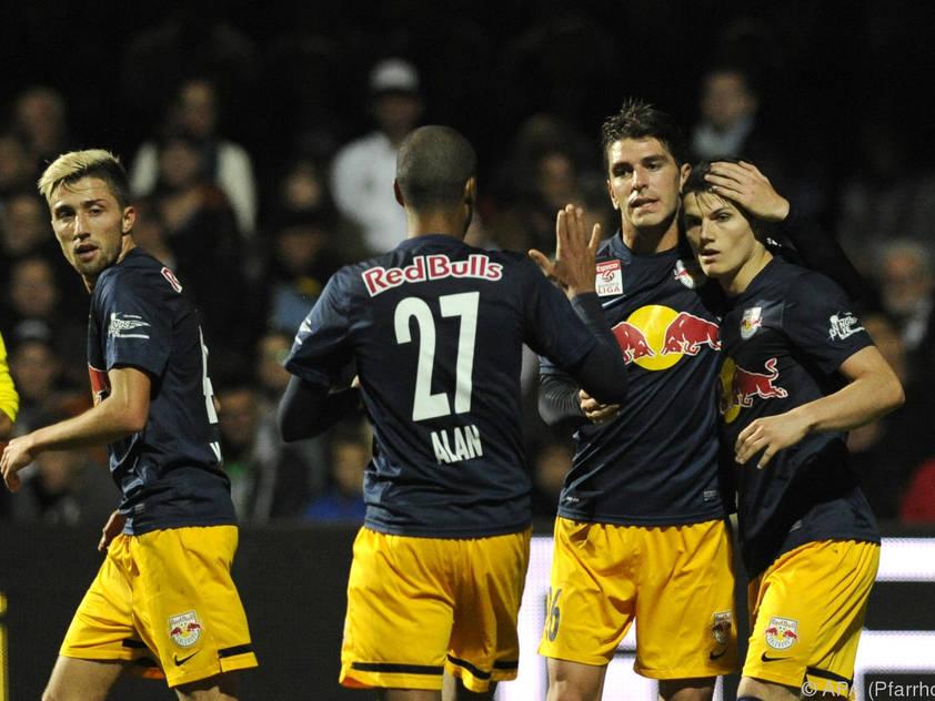 Salzburg fertigte den Wiener Sportklub 12:1 ab