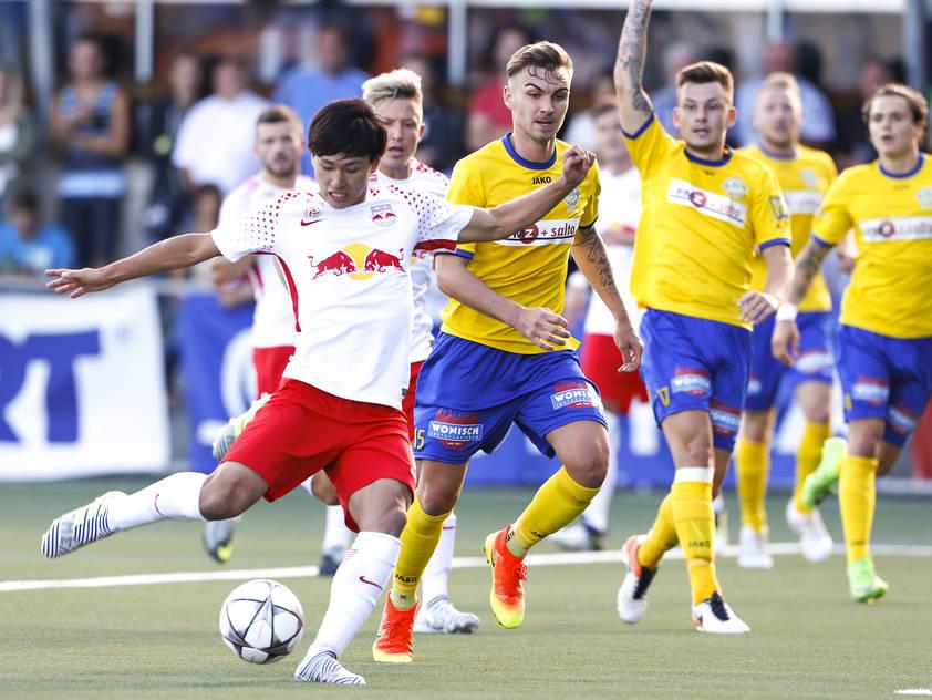 Salzburg siegte erneut mit 7:0 in Deutschlandsberg