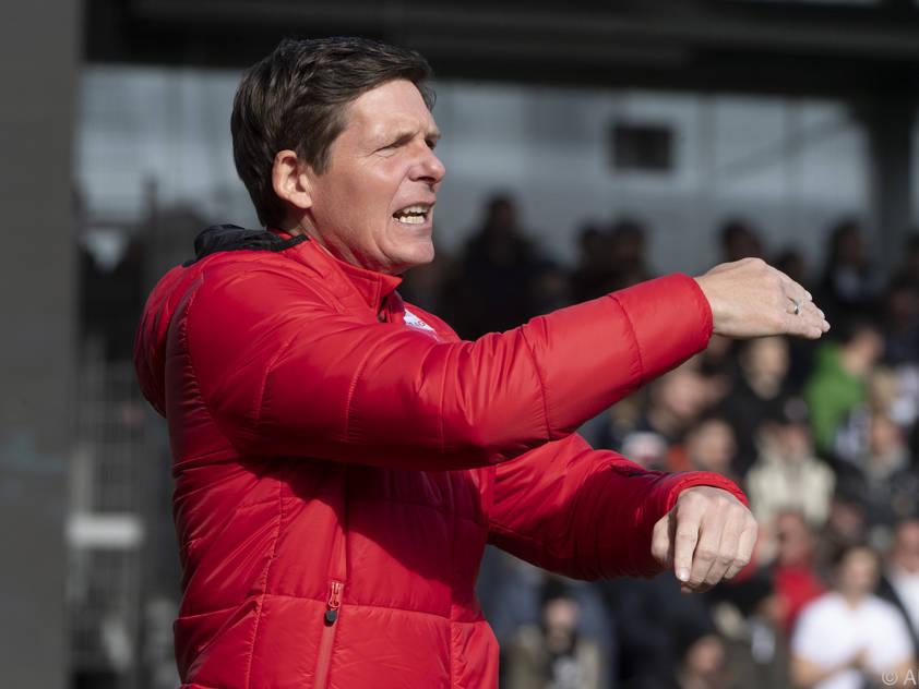 LASK-Trainer Glasner kann durchwegs zufrieden sein