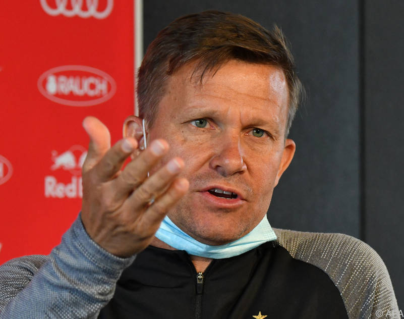 Salzburg-Coach Jesse Marsch setzt auf Kommunikation