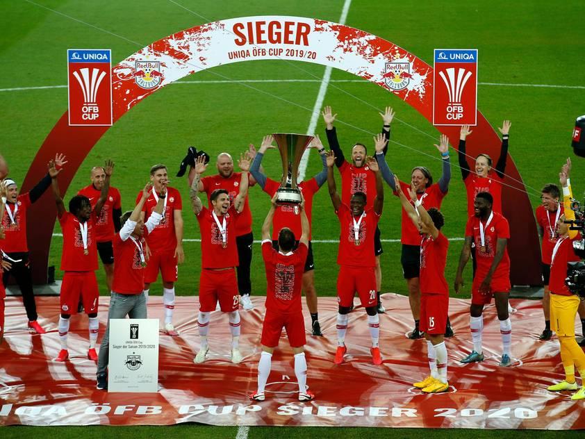 Nächstes Ziel der Salzburger ist der Meistertitel