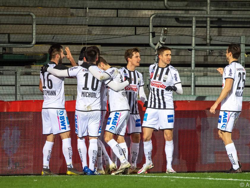 LASK mühte sich gegen Austria Klagenfurt ins Cup-Semifinale