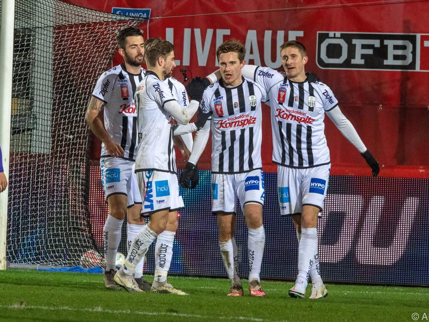 LASK müht sich zum Aufstieg ins ÖFB-Cup-Halbfinale