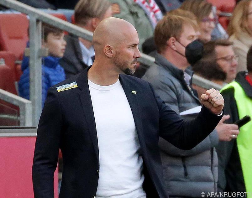 Sturm-Coach Christian Ilzer will einen Sieg gegen Ried