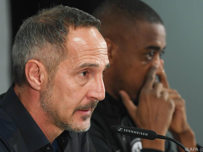 Adi Hütters Eintracht will die kleine Chance im Rückspiel nützen