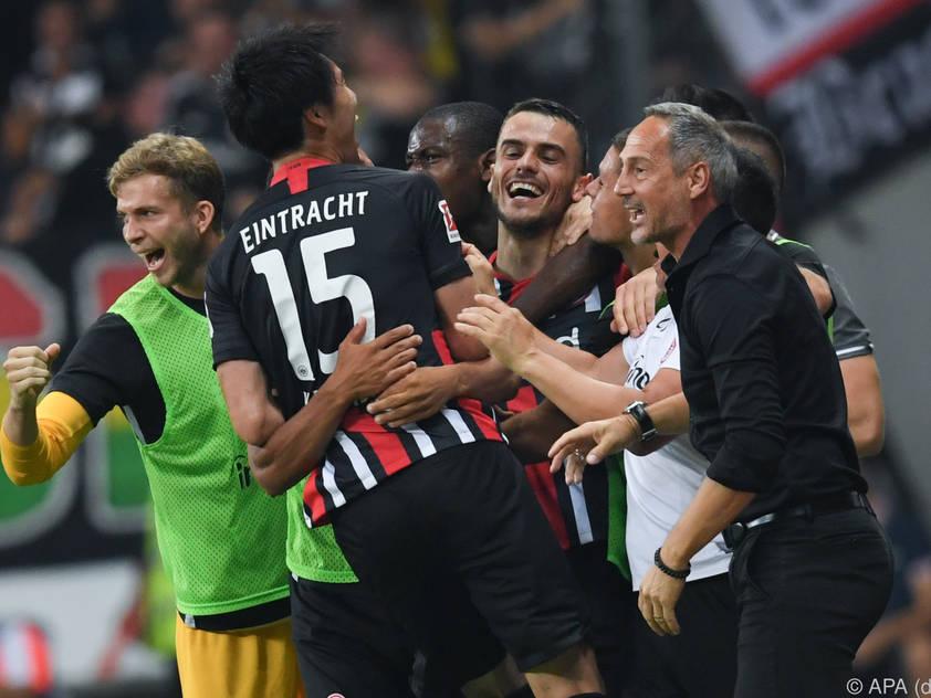 Eintracht in Frankfurt, das Ticket für die Europa League ist gelöst