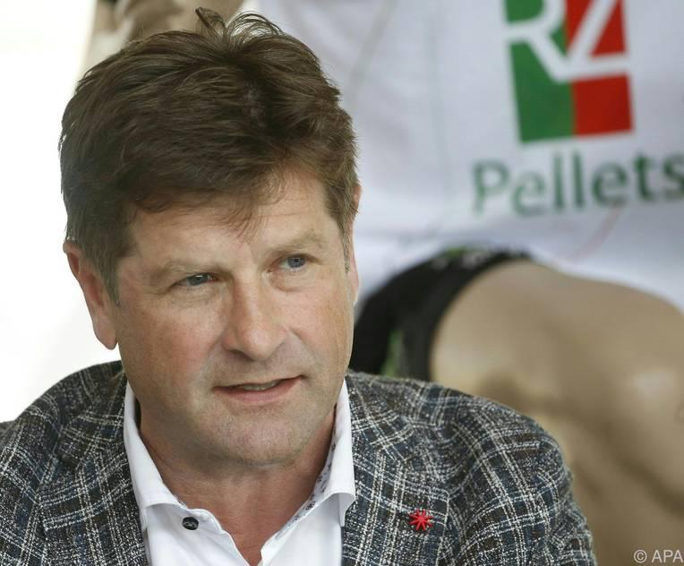 Dietmar Riegler freut sich über den Sprung in die Europa-League