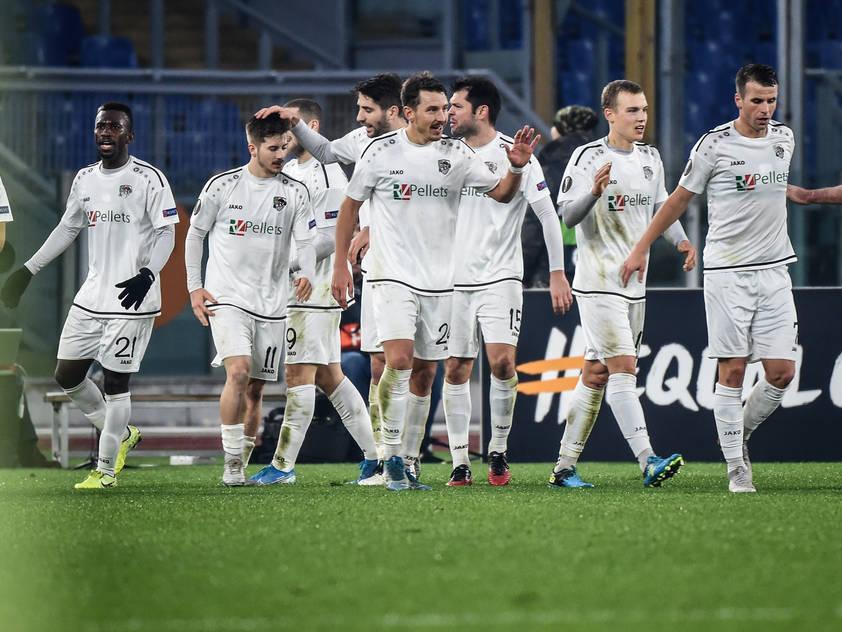 Der WAC zeigte eine würdige Abschiedspartie gegen die AS Roma