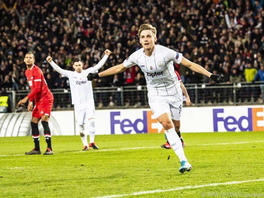 Raguž erzielte beide Tore der Linzer