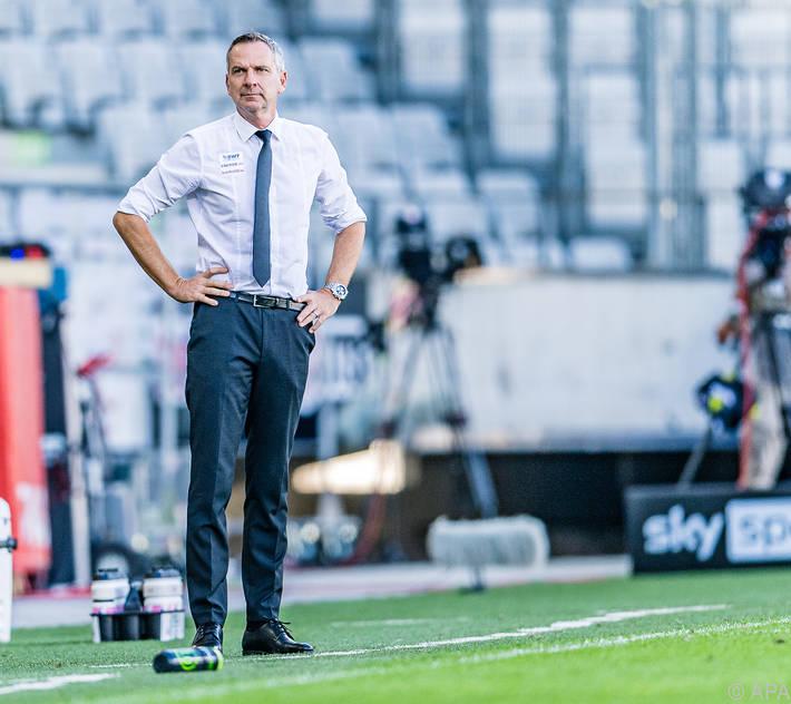 LASK-Trainer Dominik Thalhammer ist zuversichtlich