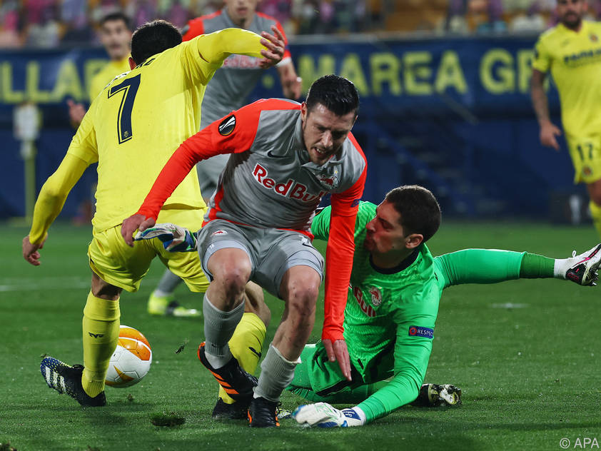 Salzburg scheiterte in Villarreal auch an sich selbst
