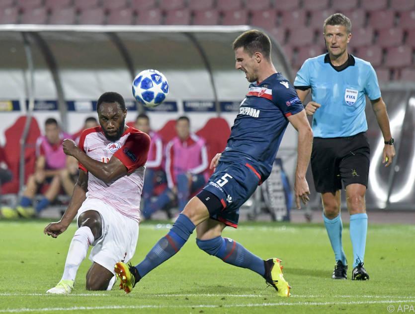 Keine Zuschauer, keine Tore: Salzburg spielte in Belgrad nur 0:0