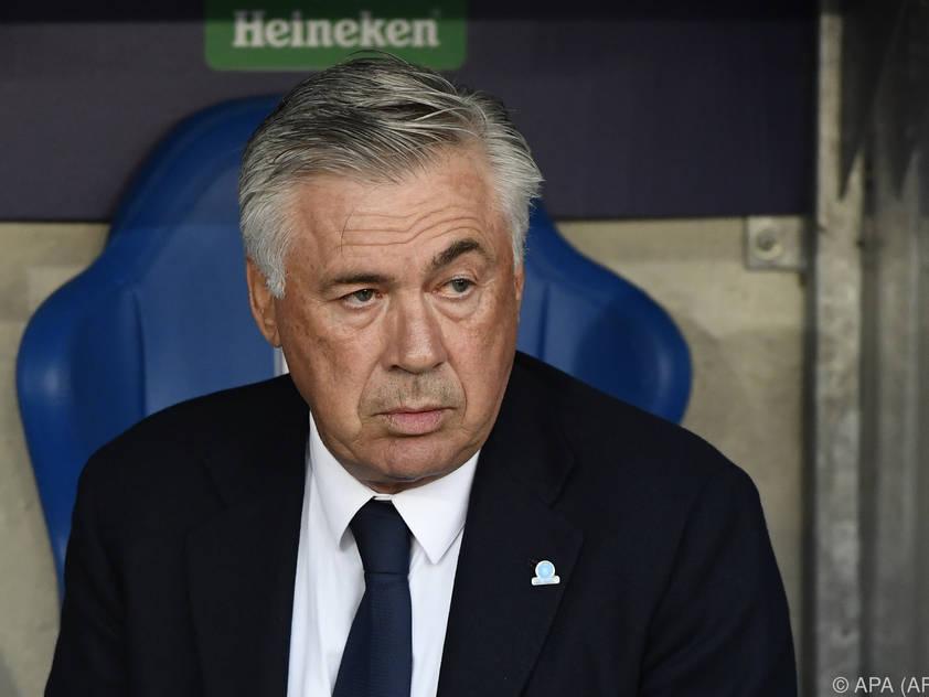 Ancelotti gibt sich zuversichtlich