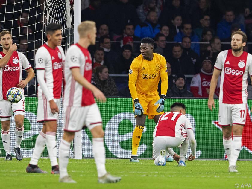 Kein Happy End für den niederländischen Meister Ajax