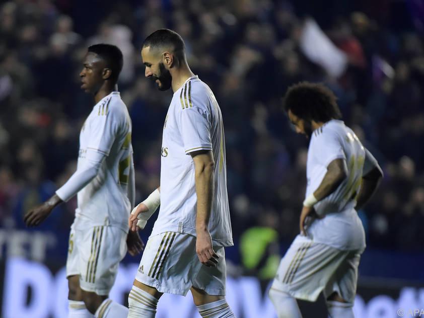 Für Real lief es in der Liga zuletzt nicht nach Plan