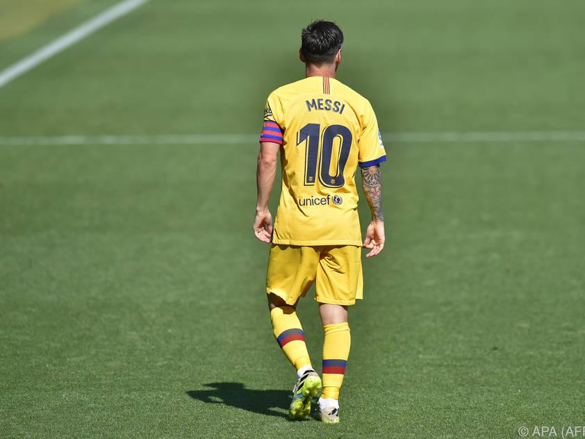 Messi ist und bleibt eine Waffe