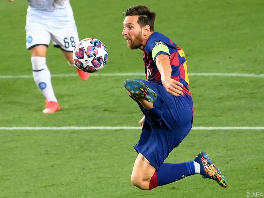 Lionel Messi prägte das Spiel der Katalanen