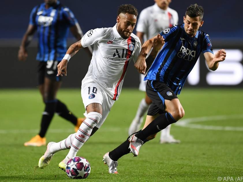 Neymar und Co. taten sich gegen Atalanta schwer