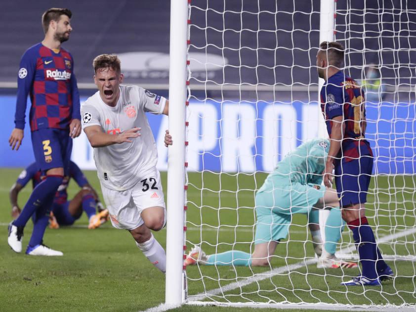 Barca-Spieler nach fünftem Gegentreffer durch Kimmich frustriert
