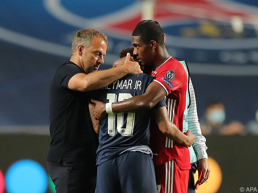 Auch David Alaba konnte Neymars Leid kaum lindern