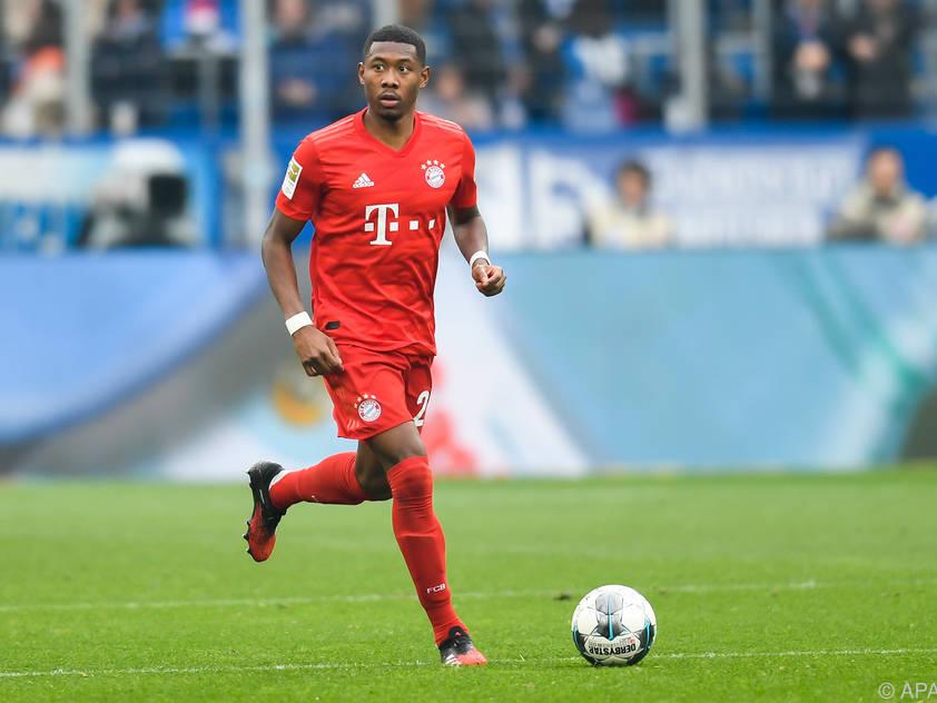 David Alaba spielte eine starke Saison bei den Bayern
