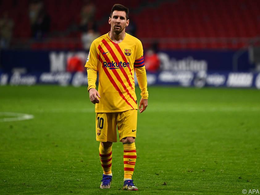 Messis Motivation ist immer wieder Gesprächsthema in Barcelona