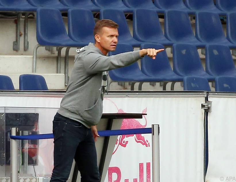 Coach Marsch will wieder angreifen lassen